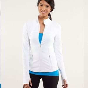Lululemon Forme Jacket - Polar White